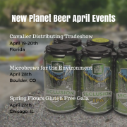 New Planet Beer April Events