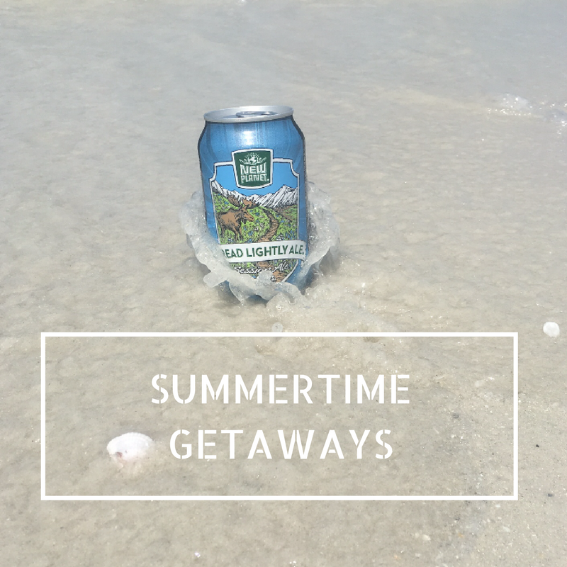 New Planet Beer summertime getaways