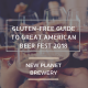 Gluten Free Guide to Great American Beer Fest 2018