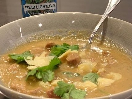 gluten free green chili and beer