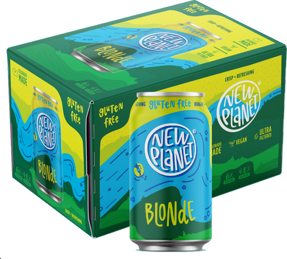 New Planet Beer Blonde Ale