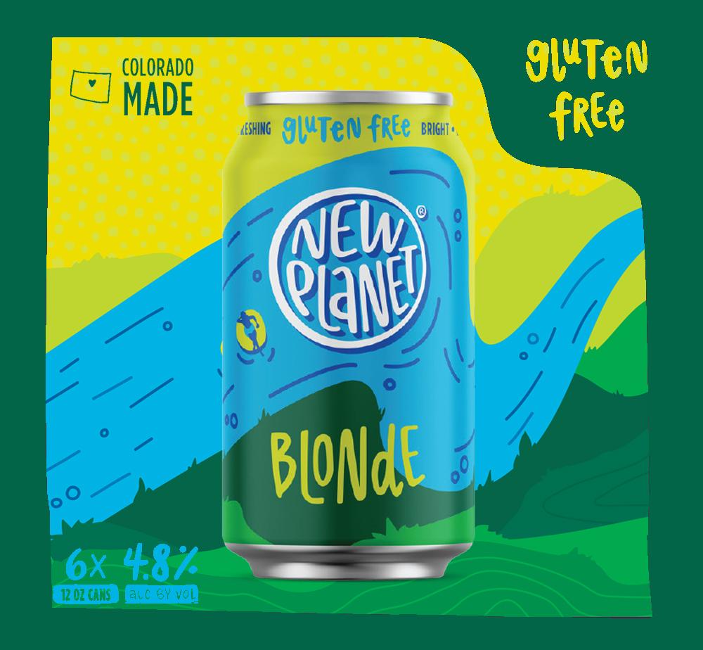 Gluten free blonde ale